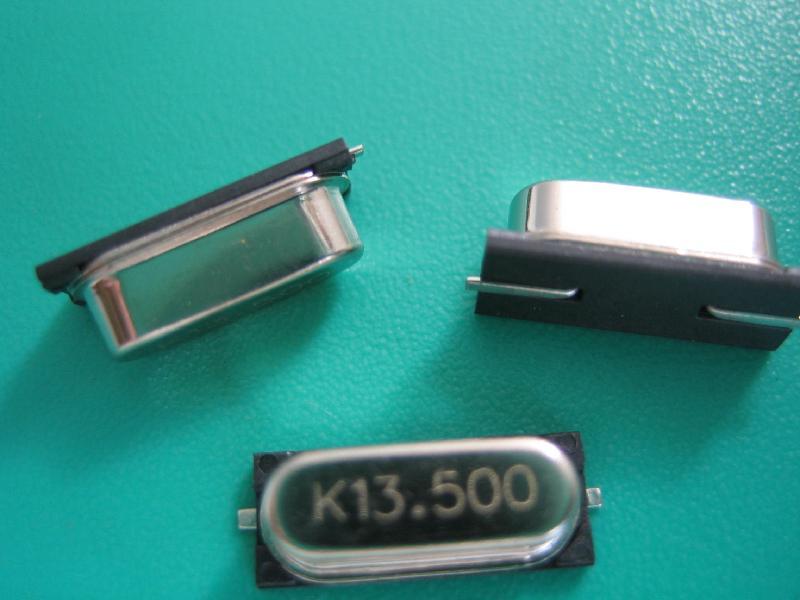无源晶振有插件形状也有贴片形状